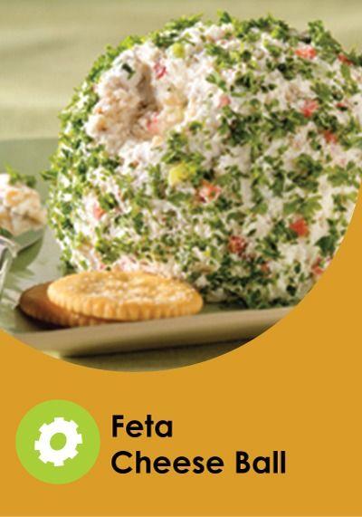 Feta Cheese Ball | Recipe