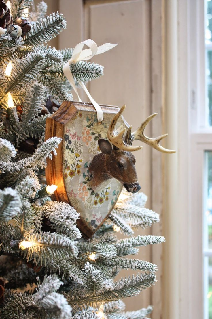 My Sweet Savannah~diy deer mount ornaments, super easy to make with full tutorial!
