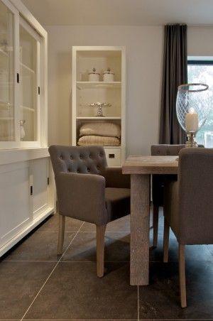 mooie stoelen eetkamer  # House  Pinterest