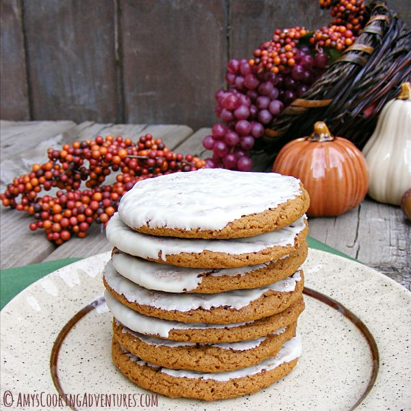 Chewy Pumpkin Spice Molasses Cookies | Food glorious food!! | Pintere ...