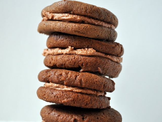 chocolate malt sandwich cookies | Food I Want Momma to Make | Pintere ...