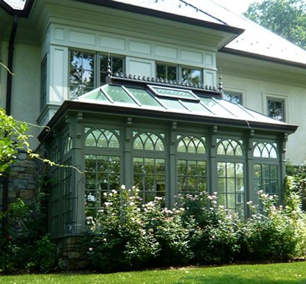 conservatory---so charming!