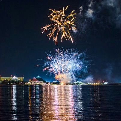 galveston fireworks 4th july 2011