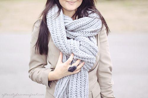 BIG scarf!