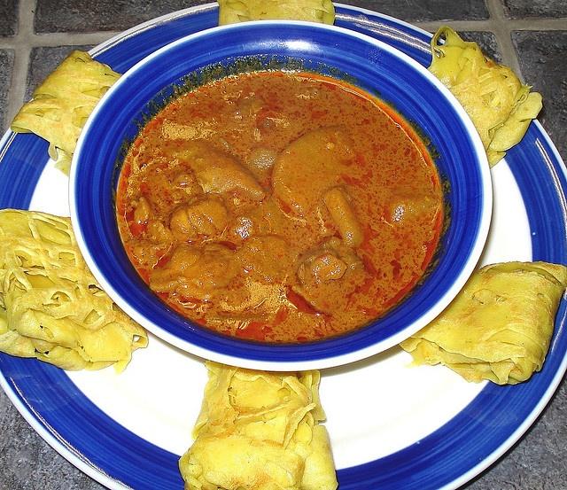 Roti Jala & Chicken Curry   chicken   Pinterest