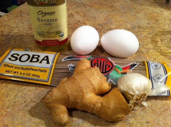 Sesame-Garlic Soba Noodles w/ Fried Egg | Food | Pinterest