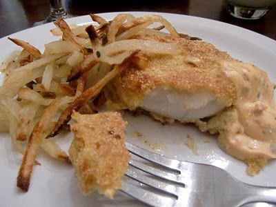 ... Gourmet: Delicious Recipes for the Home Cook.: Crispy Oven-Fried Cod
