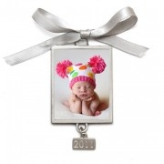 Vertical Photo Ornament personalized with your favorite little angel!