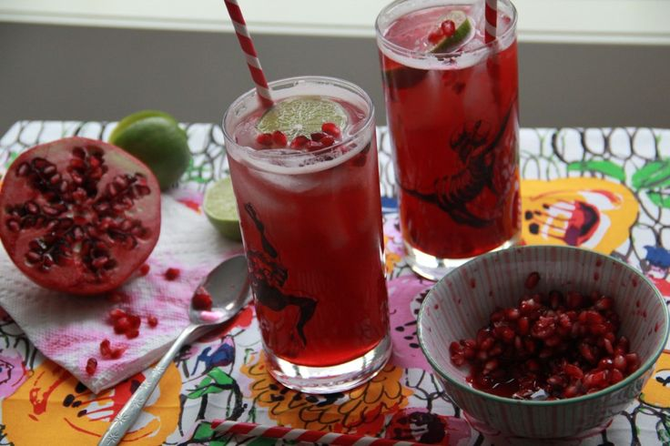 Bourbon Pomegranate Sparkler   Ie nomi   Pinterest