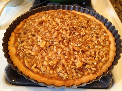 caramel walnut tart! | from my kitchen! | Pinterest