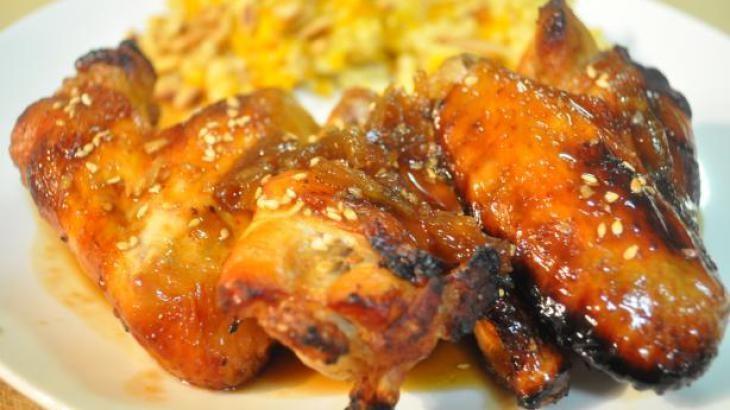 Sweet Soy-Glazed Chicken Wings   Favorite Recipes   Pinterest