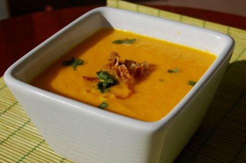 Creamy Carrot Ginger & Lemon Grass Soup | Yummy Yummy Food! | Pintere ...