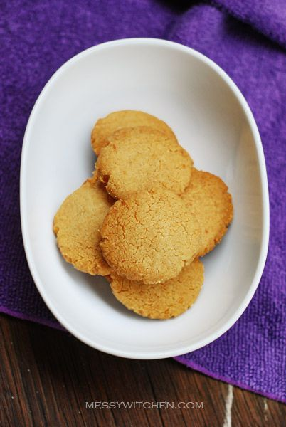 Tahini Almond Cookies | Cookies (Easy to Veganize) | Pinterest