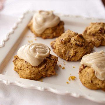 Pumpkin-Pecan Cookies. ===== Rolando De La Garza ...