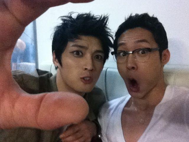 park yoochun shirtless   13   July   2011   Happy New Year from JYJ CY    Yoochun Shirtless