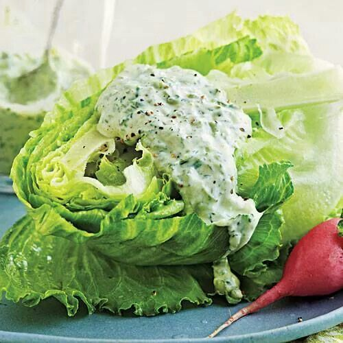 Green goddess dressing | Clean eating | Pinterest