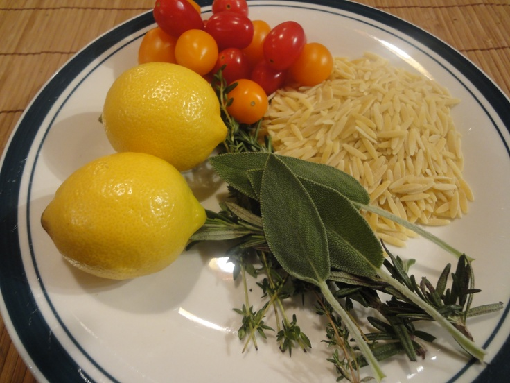 Orzo Pasta with Lemon and Herb Shrimp | Recipes | Pinterest