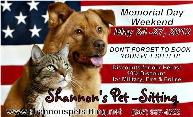 memorial day pet images