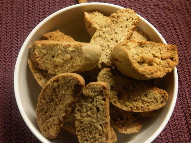 Spicy Ginger & Nut Biscotti #2