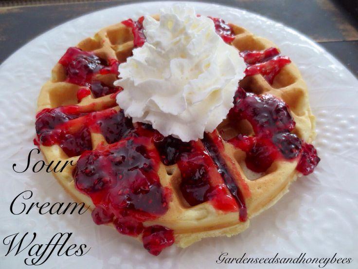 Sour Cream Waffles | Sunny Side Up | Pinterest