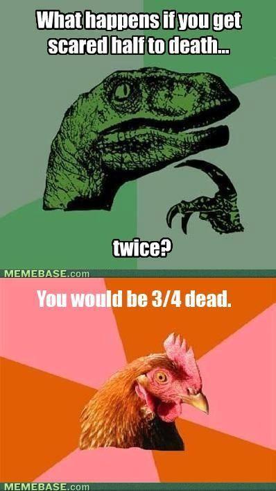Anti Joke Chicken Meme | Funny | Pinterest Anti Joke Chicken Meme