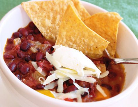 black bean tortilla soup | sophistimom | Sunday Soups | Pinterest