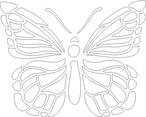 Free Printable Butterfly 2 Stencil