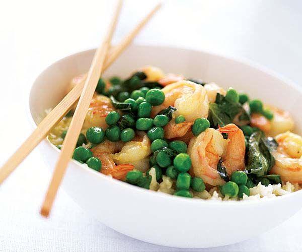 Thai Green Curry Shrimp | Recipe