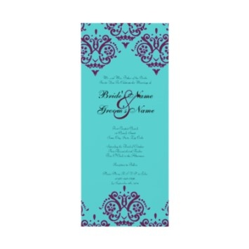 purple and turquoise wedding invitations. about our company people,