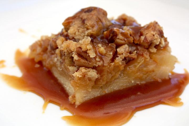 Caramel Apple Bars | Apple a day | Pinterest