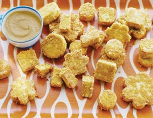 Fried/Baked Tofu and Hummus | glutin free recipes | Pinterest