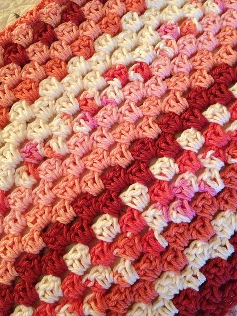 Crocheting a blanket. crochet Pinterest