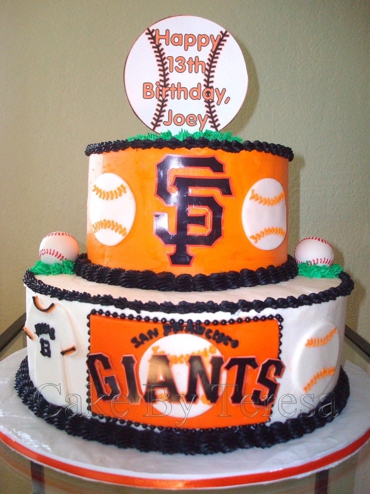 Birthday Cake Design San Francisco : San Francisco Giants cake, I love this! Giants ...