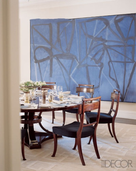 Blue Dining Room Color Scheme Beautiful Dining Rooms