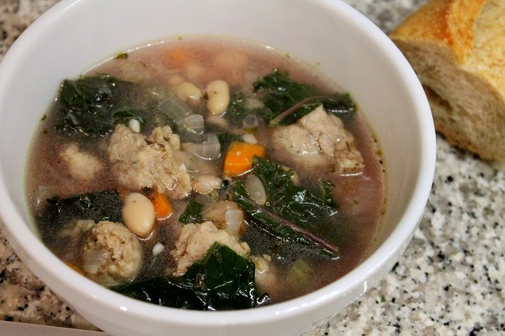 Sausage, Kale and White Bean Soup | Soups and Stews | Pinterest