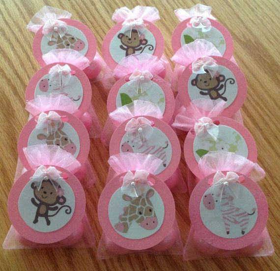 jungle jill monkey baby shower party favors set of 12 adorable hand