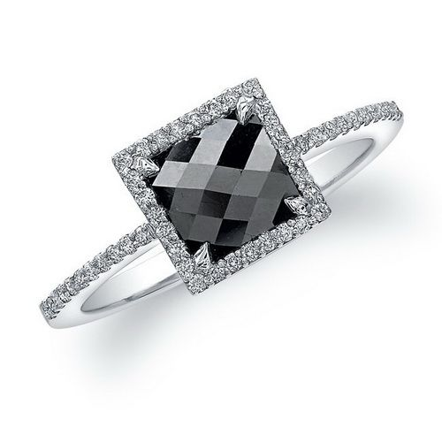Black diamond rings to match