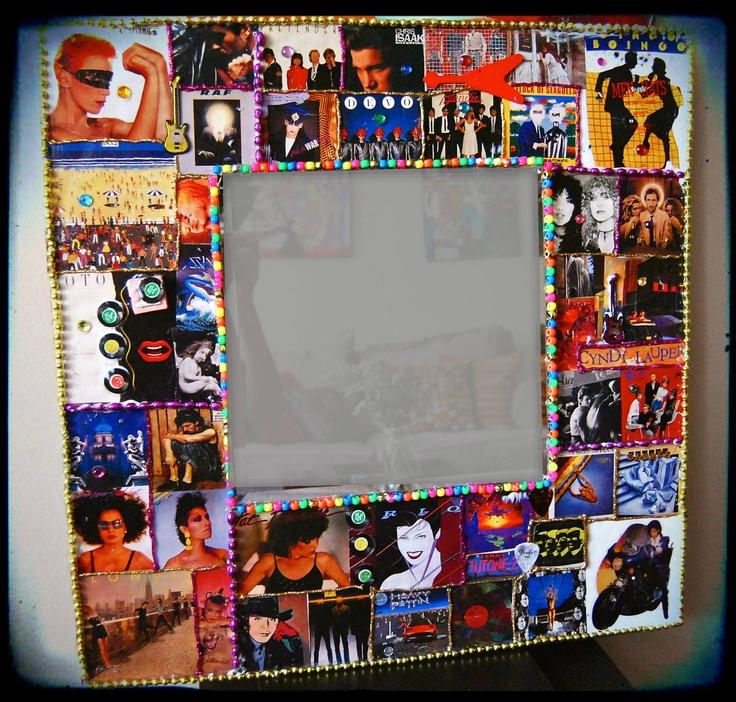 Rock n roll home decor  Music Art 1980s wall decor Rock n Roll New ...