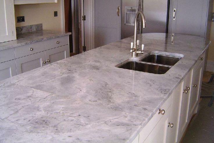 Bianco Eclipsia Granite Kitchen