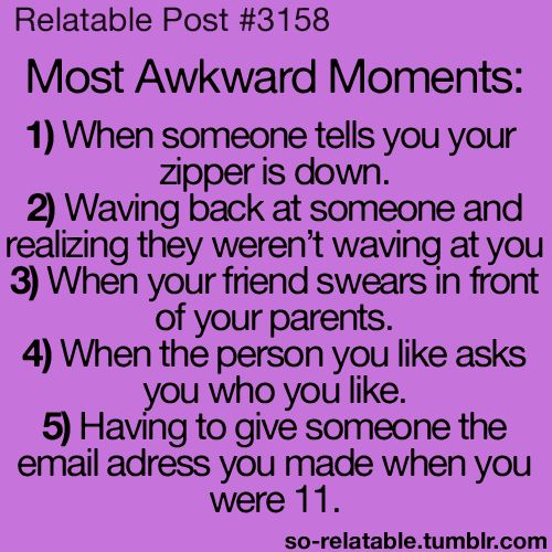 most awkward moments teen quotes pinterest