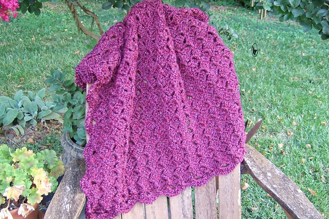 Crochet Patterns For Homespun Yarn : Crochet blanket made with Homespun yarn Crochet Pinterest