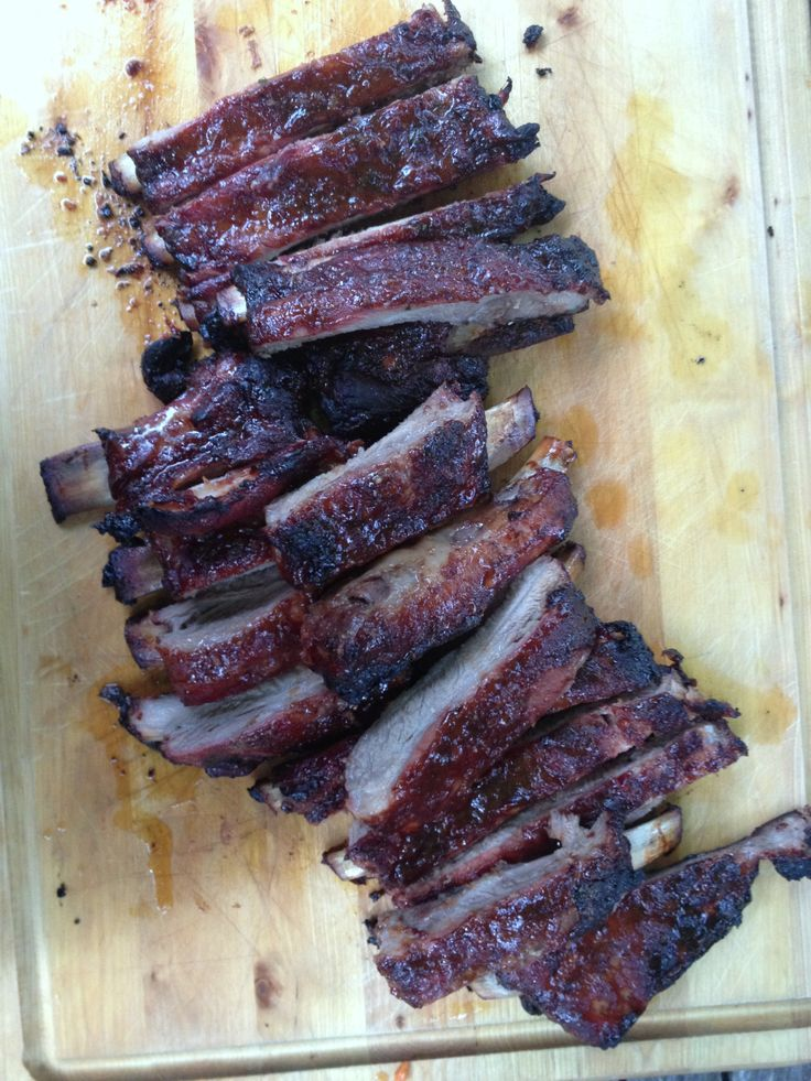 Asian Baby Back Ribs | Korean dishes | Pinterest
