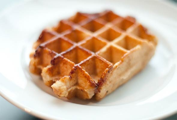 Liege waffles (Had these on the train to Paris and fell in love. With a waffle.)