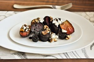 ROASTED BEETS, WALNUTS, GOAT CHEESE. | FOOD & BEV | Pinterest