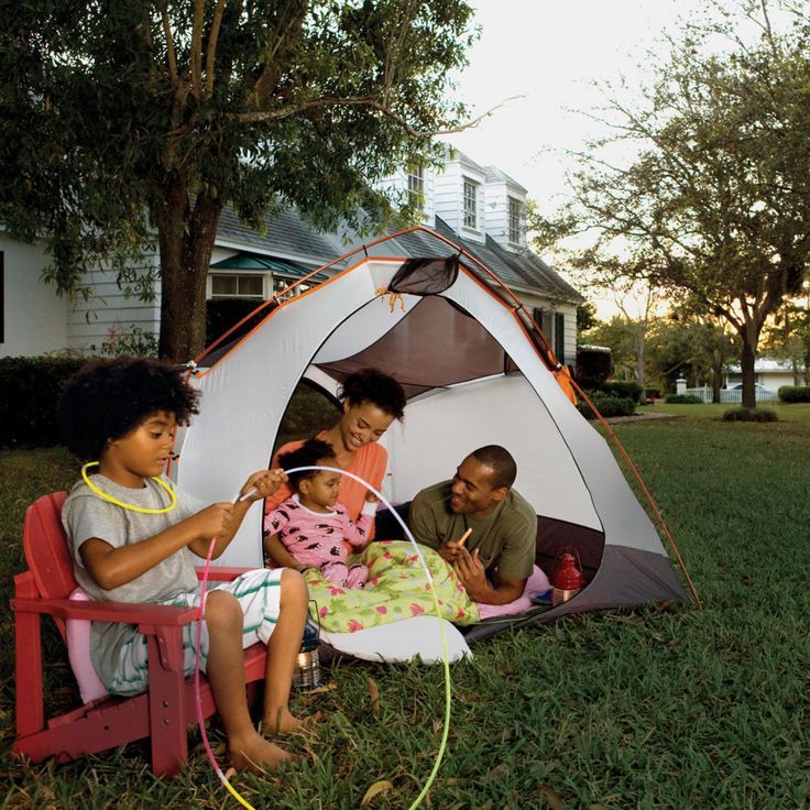 Camping in Your Back Yard