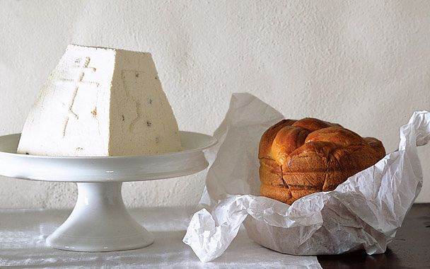 Russian Easter Bread - A cross between brioche and challah, this bread ...