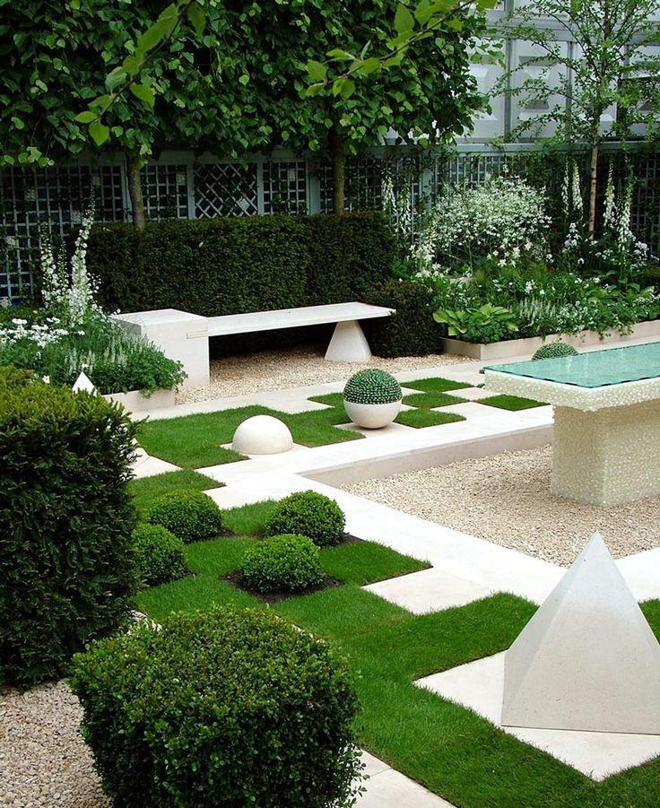geometric garden Amazing Garden Designs Pinterest