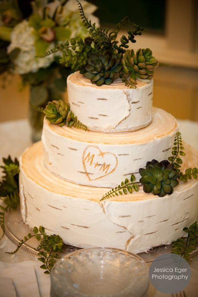 birch wedding cake wedding ideas pinterest. Black Bedroom Furniture Sets. Home Design Ideas