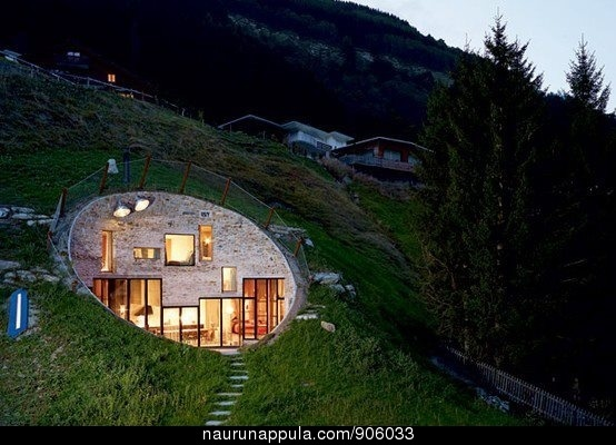 modern hobbit hole our new house pinterest