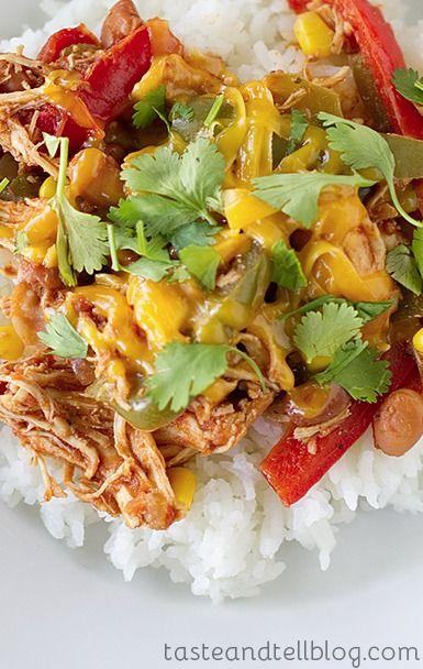 Slow Cooker Tex-Mex Chicken | Recipe